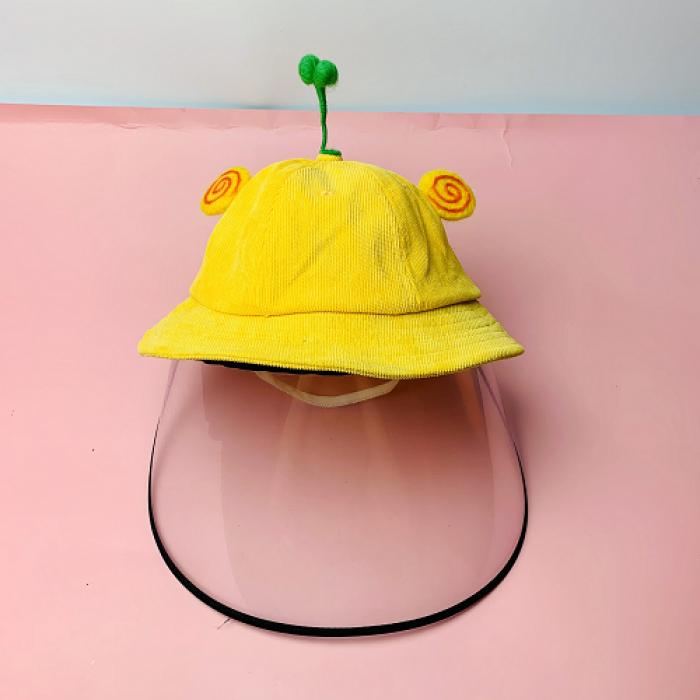 Nón kháng khuẩn- nón bảo hộ - nón chống dịch có màng che kín mặt style Hàn Quốc -0908 555 65619