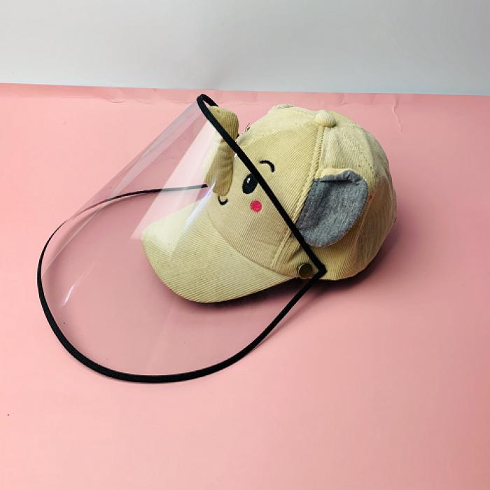 Nón kháng khuẩn- nón bảo hộ - nón chống dịch có màng che kín mặt style Hàn Quốc -0908 555 6569