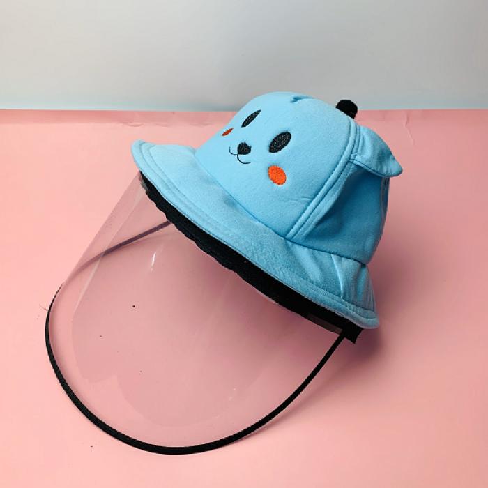 Nón kháng khuẩn- nón bảo hộ - nón chống dịch có màng che kín mặt style Hàn Quốc -0908 555 65611
