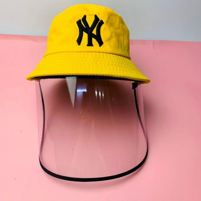 Nón kháng khuẩn- nón bảo hộ - nón chống dịch có màng che kín mặt style Hàn Quốc -0908 555 65618