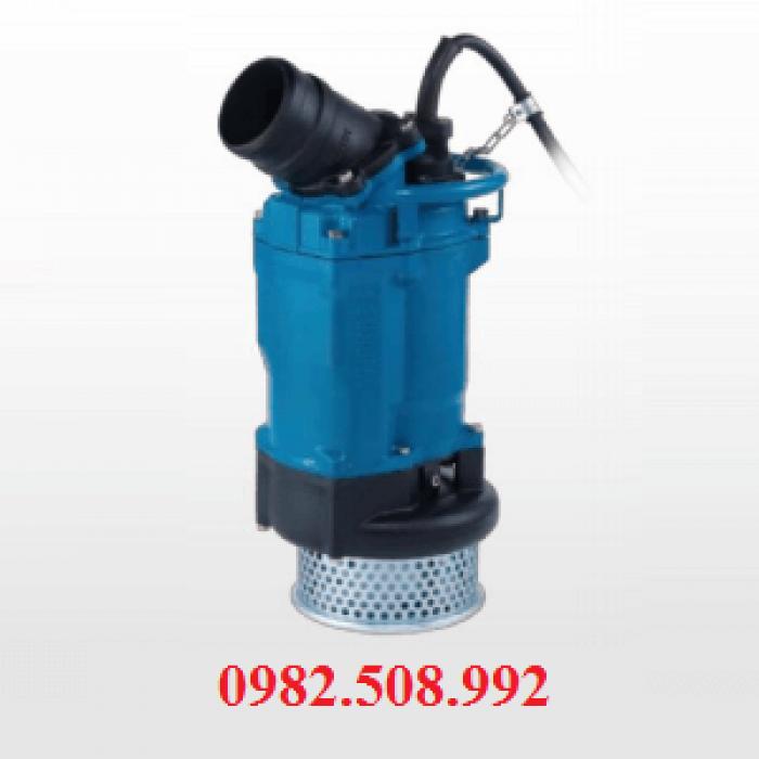 Bơm thi công nước thải hố móng KTZ411, KTZ4150