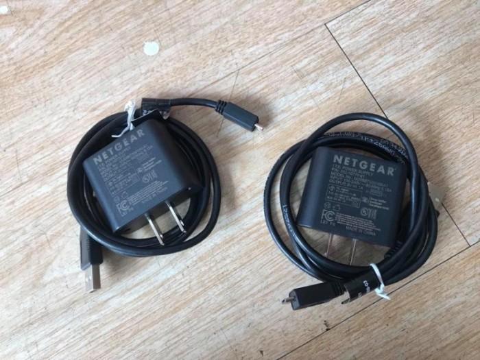 Bộ sạc netgear 5v1a cho các cục phát wifi netgear hàng zin chính hãng0