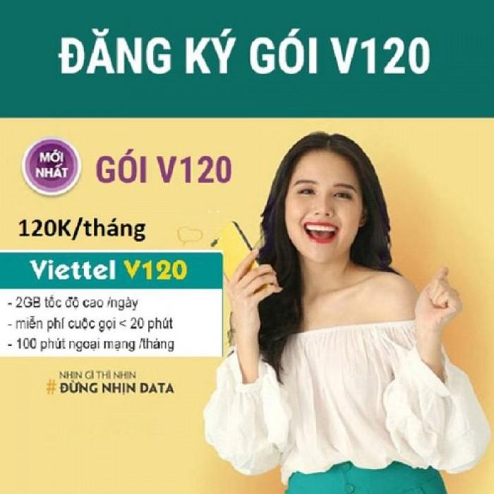 Sim Viettel V120-free 60GB THÁNG-Miễn phí sử dụng THÁNG ĐẦU2