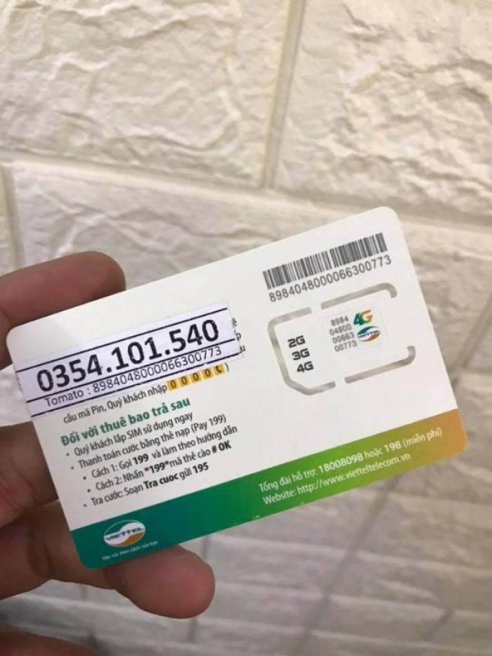 Sim Viettel V120-free 60GB THÁNG-Miễn phí sử dụng THÁNG ĐẦU3