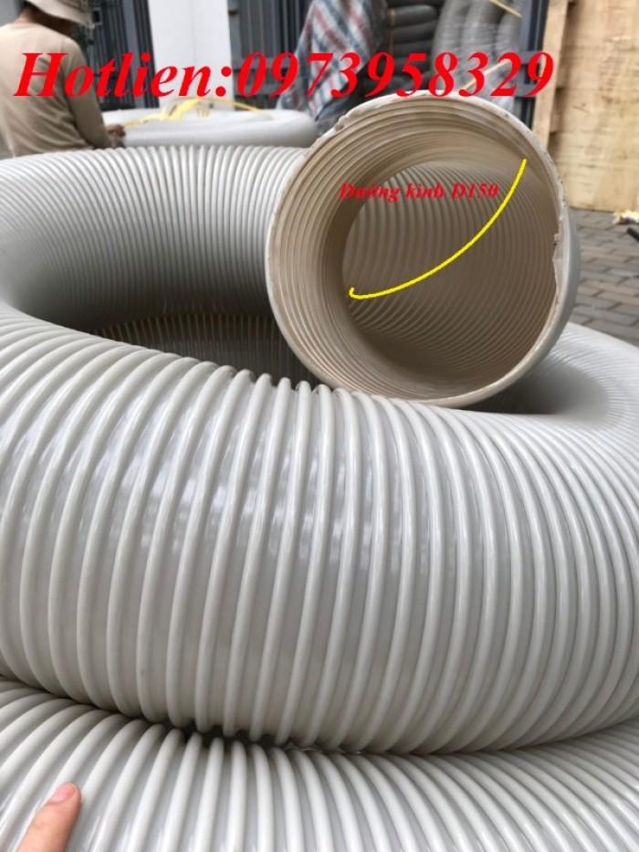 Ống hút bụi gân nhựa Pvc - ống nhựa hút bụi xoắn  - ống nhựa hút bụi công nghiệp D300, D250, D200, D168, D150, D120, D114, D100, D90, D76, D65, D60, D50, D40, D34, D2515