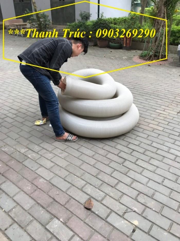 Ống hút bụi gân nhựa Pvc - ống nhựa hút bụi xoắn  - ống nhựa hút bụi công nghiệp D300, D250, D200, D168, D150, D120, D114, D100, D90, D76, D65, D60, D50, D40, D34, D2516