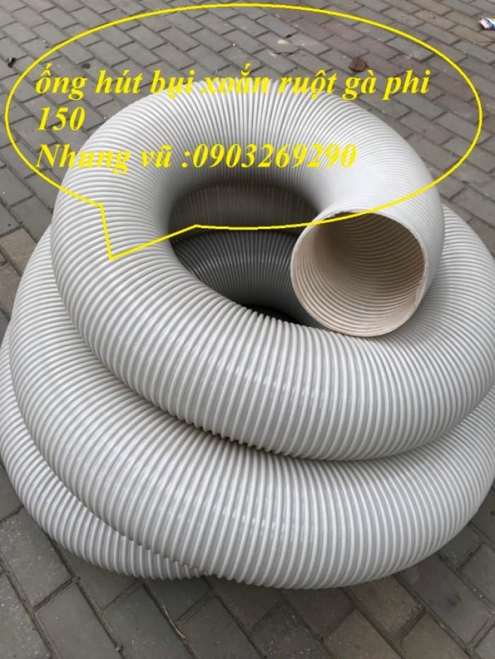 Ống hút bụi gân nhựa Pvc - ống nhựa hút bụi xoắn  - ống nhựa hút bụi công nghiệp D300, D250, D200, D168, D150, D120, D114, D100, D90, D76, D65, D60, D50, D40, D34, D2520