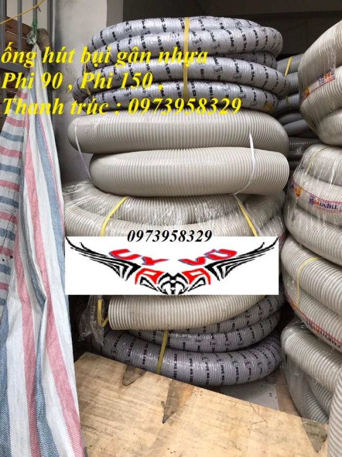 Ống hút bụi gân nhựa Pvc - ống nhựa hút bụi xoắn  - ống nhựa hút bụi công nghiệp D300, D250, D200, D168, D150, D120, D114, D100, D90, D76, D65, D60, D50, D40, D34, D2525