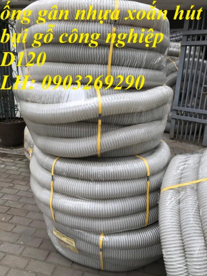 Ống hút bụi gân nhựa Pvc - ống nhựa hút bụi xoắn  - ống nhựa hút bụi công nghiệp D300, D250, D200, D168, D150, D120, D114, D100, D90, D76, D65, D60, D50, D40, D34, D2526