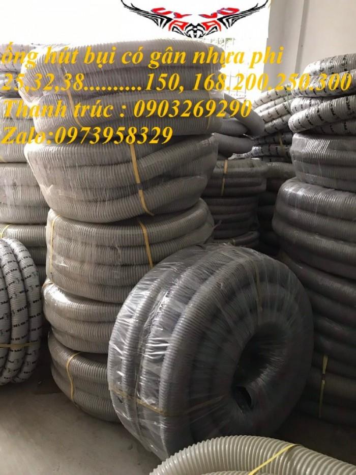 Ống hút bụi gân nhựa Pvc - ống nhựa hút bụi xoắn  - ống nhựa hút bụi công nghiệp D300, D250, D200, D168, D150, D120, D114, D100, D90, D76, D65, D60, D50, D40, D34, D2529