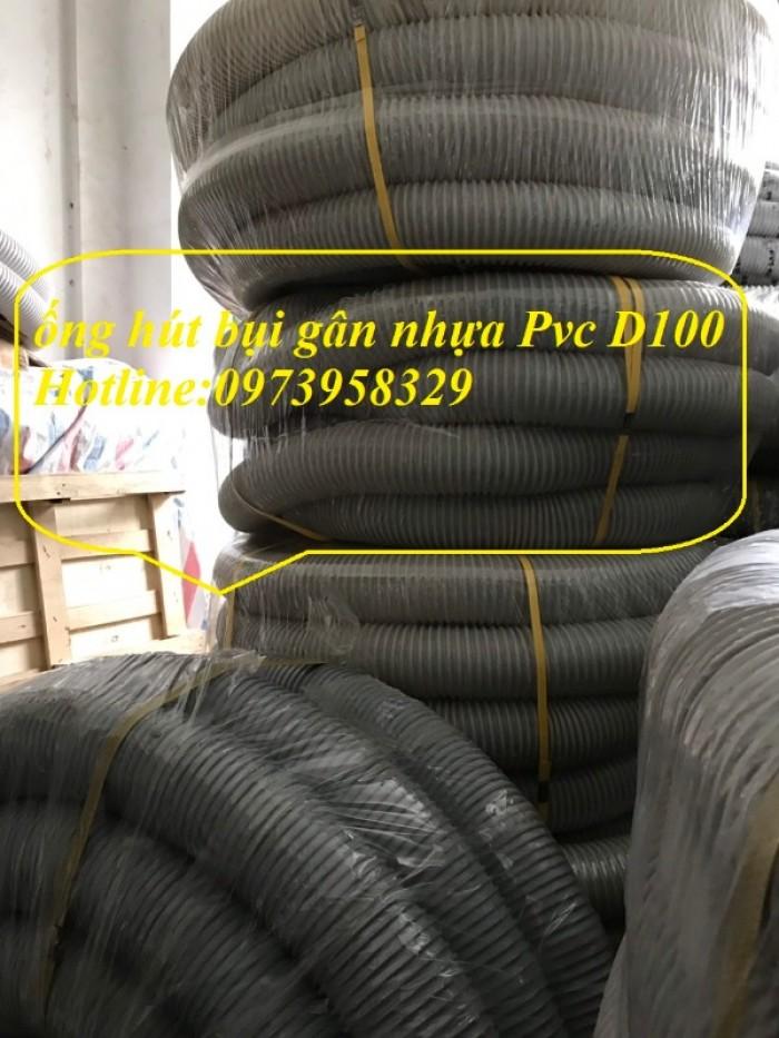 Ống hút bụi gân nhựa Pvc - ống nhựa hút bụi xoắn  - ống nhựa hút bụi công nghiệp D300, D250, D200, D168, D150, D120, D114, D100, D90, D76, D65, D60, D50, D40, D34, D2534