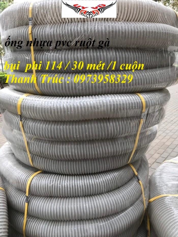 Ống hút bụi gân nhựa Pvc - ống nhựa hút bụi xoắn  - ống nhựa hút bụi công nghiệp D300, D250, D200, D168, D150, D120, D114, D100, D90, D76, D65, D60, D50, D40, D34, D2539