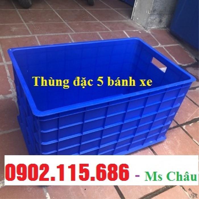 Thùng nhựa kéo hàng nặng, thùng nhựa có bánh xe,thùng nhựa công nghiệp,thùng nhựa đựng hàng nặng,4