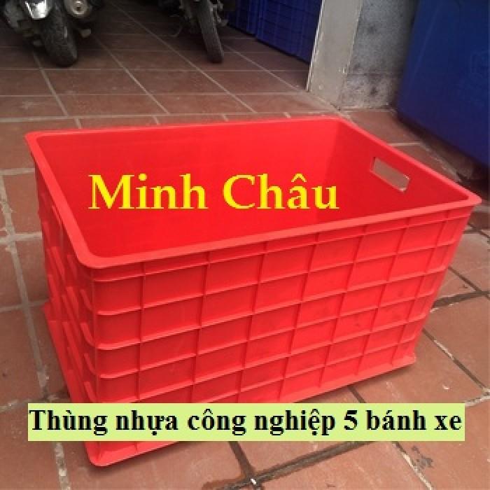 Thùng nhựa kéo hàng nặng, thùng nhựa có bánh xe,thùng nhựa công nghiệp,thùng nhựa đựng hàng nặng,3