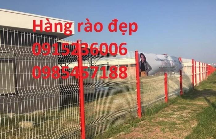 Hàng rào sơn tĩnh điện, mạ kẽm nhúng nóng, phi 4, phi 5, phi 6... hàng sẵn có5