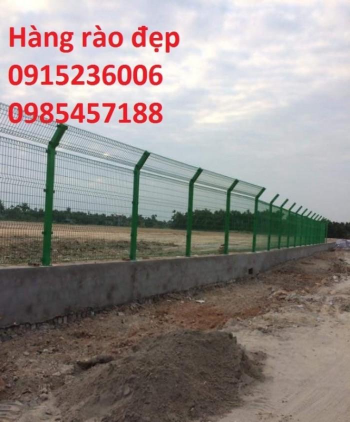 Hàng rào sơn tĩnh điện, mạ kẽm nhúng nóng, phi 4, phi 5, phi 6... hàng sẵn có11