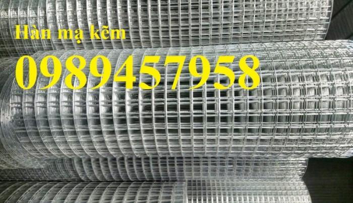Lưới mắt cáo, lưới hàn mạ kẽm dây 1ly ô 10x100