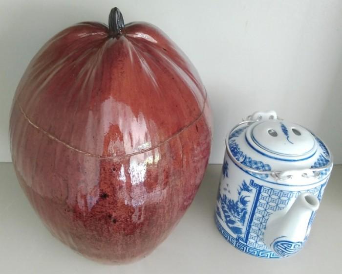 Combo: Vỏ + bình trà trái dừa (Bình trà 0,5-0,75 lít)1