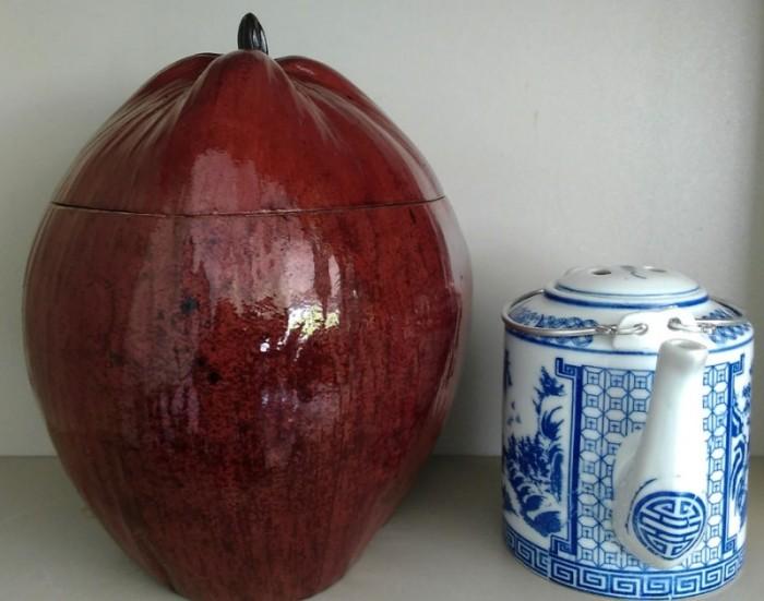 Combo: Vỏ + bình trà trái dừa (Bình trà 0,5-0,75 lít)2