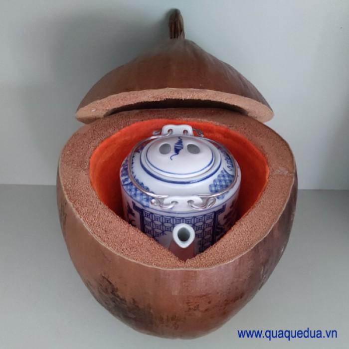 Combo: Vỏ + bình trà trái dừa (Bình trà 0,5-0,75 lít)7