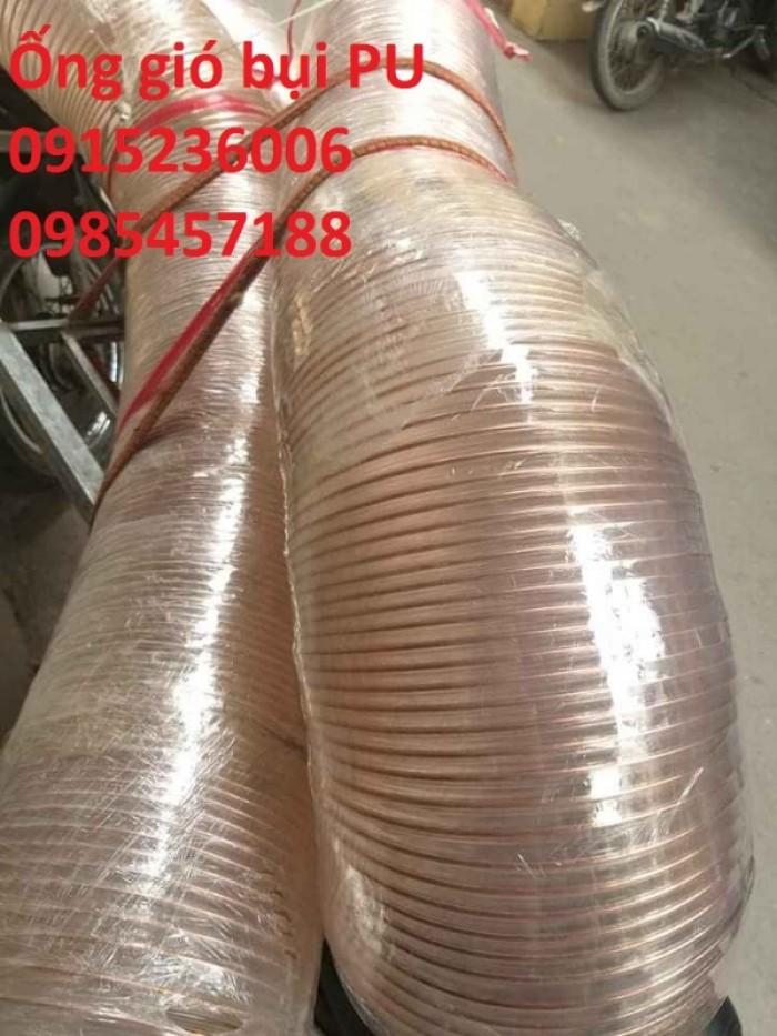 Ống hút bụi PU D100, D125, D150, D300.... phân phối toàn quốc