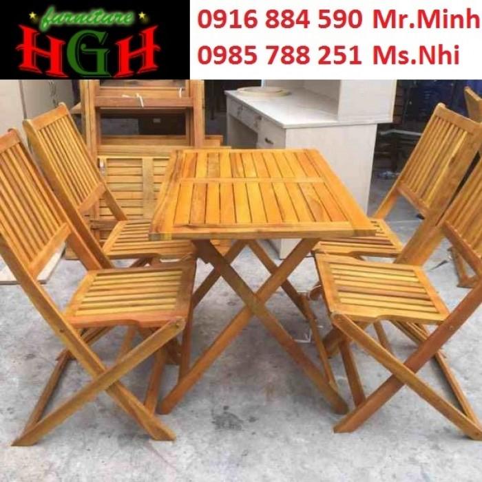bàn ghế cafe gổ xếp  giá tại xưởng sản xuất ANH KHOA 4666330