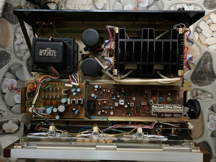 AMPLI PIONEER SX-980 JAPAN Xuất mỹ3