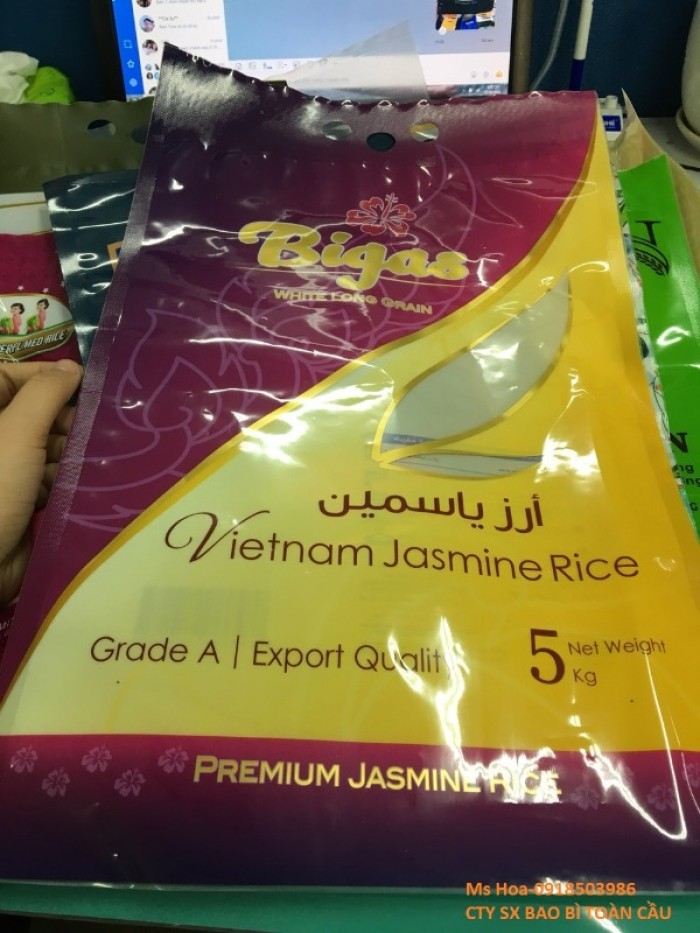 Bao PA/PE đựng gạo 1kg, 2kg, 5kg xuất khẩu21