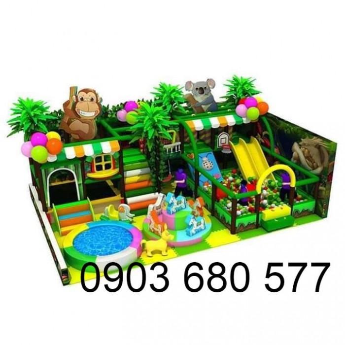 Khu vui chơi liên hoàn trong nhà và ngoài trời cho trẻ em0