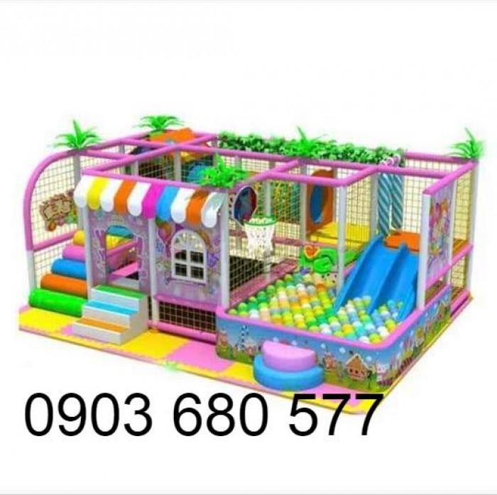 Khu vui chơi liên hoàn trong nhà và ngoài trời cho trẻ em1