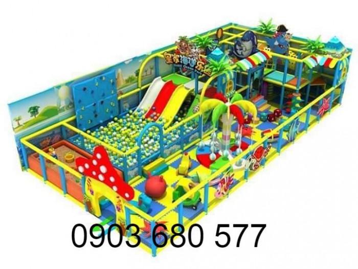 Khu vui chơi liên hoàn trong nhà và ngoài trời cho trẻ em4