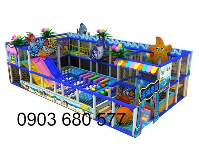 Khu vui chơi liên hoàn trong nhà và ngoài trời cho trẻ em8
