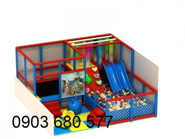 Khu vui chơi liên hoàn trong nhà và ngoài trời cho trẻ em14