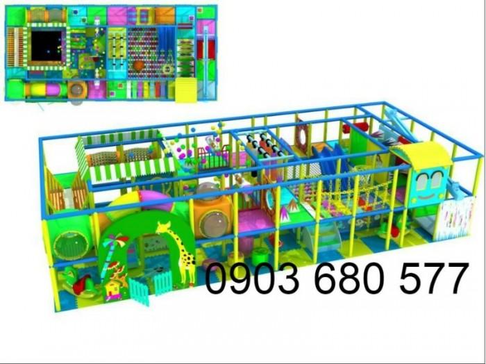 Khu vui chơi liên hoàn trong nhà và ngoài trời cho trẻ em13