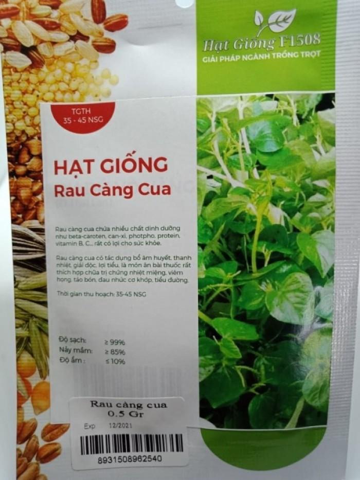 Hạt giống rau càng cua Rạng Đông1