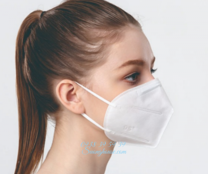 Khẩu Trang N95 Hàng chuẩn xuất khẩu có FDA để xuất Mỹ -Suonghouse5