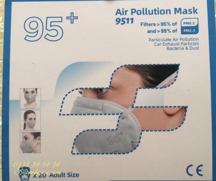 Khẩu Trang N95 Hàng chuẩn xuất khẩu có FDA để xuất Mỹ -Suonghouse10