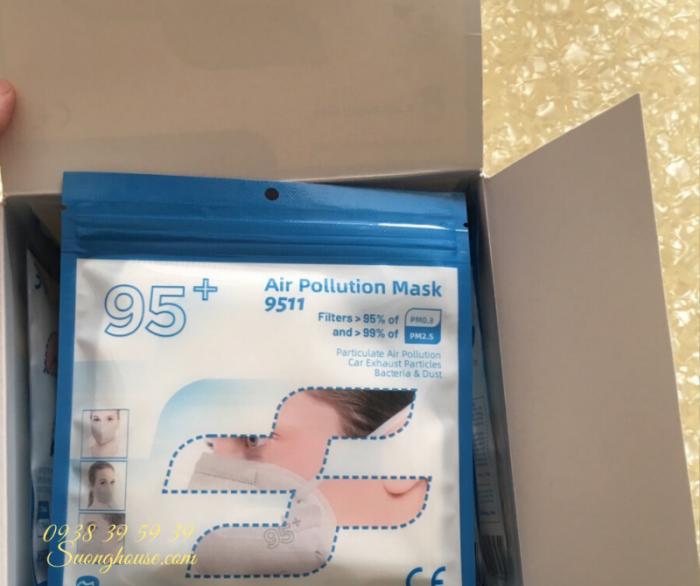 Khẩu Trang N95 Hàng chuẩn xuất khẩu có FDA để xuất Mỹ -Suonghouse12