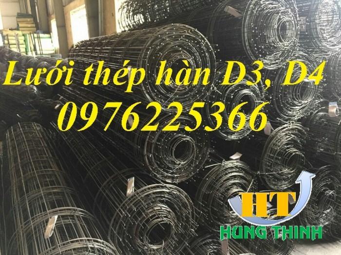 Lưới thép hàn D4 a200, lưới thép hàn dạng tấm, dạng cuộn5