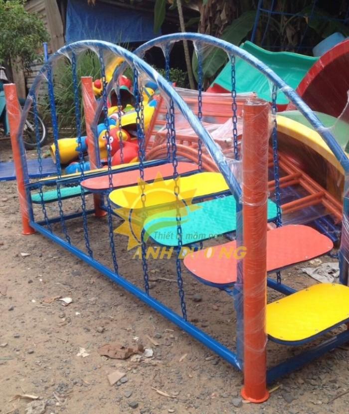 Chuyên cung cấp thang leo vận động dành cho trẻ em mẫu giáo, mầm non