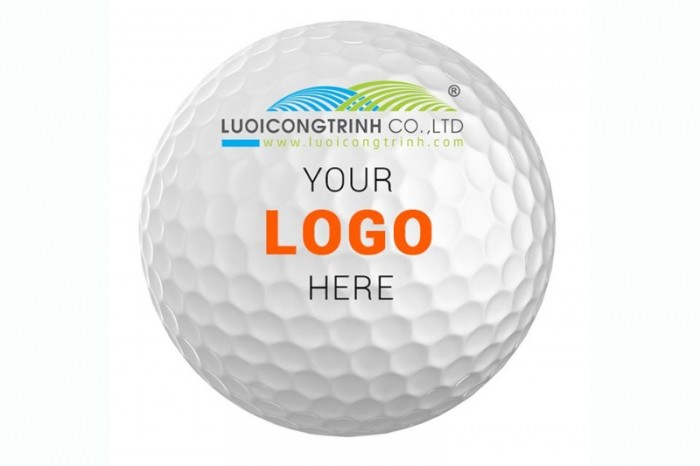 Banh golf in logo làm quà tặng1