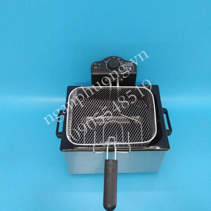 Bếp chiên nhúng điện đa năng TOMADO công suất 2000W, dung tích 5 lít5