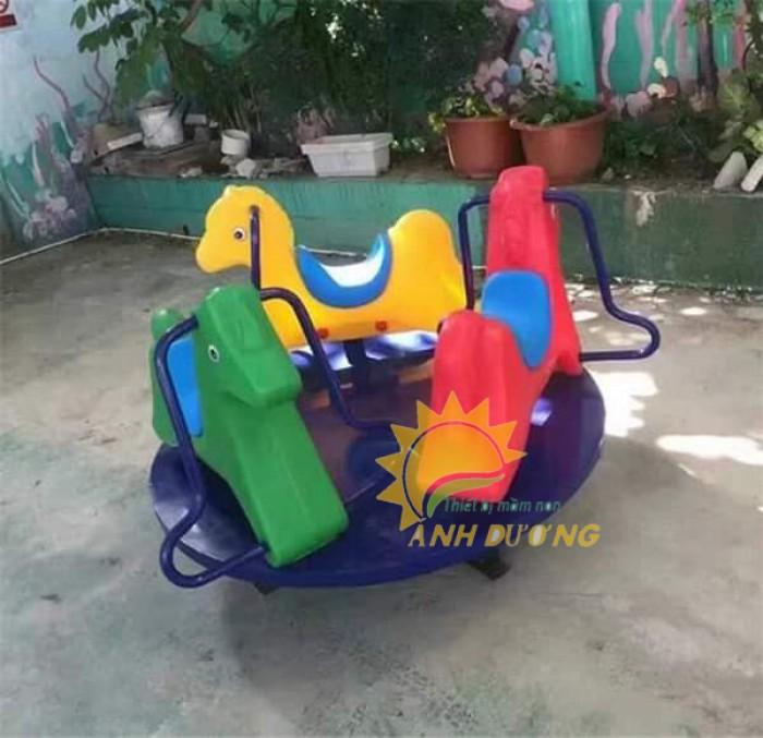 Chuyên cung cấp trò chơi đu quay trẻ em cho trường mầm non giá rẻ, chất lượng cao1