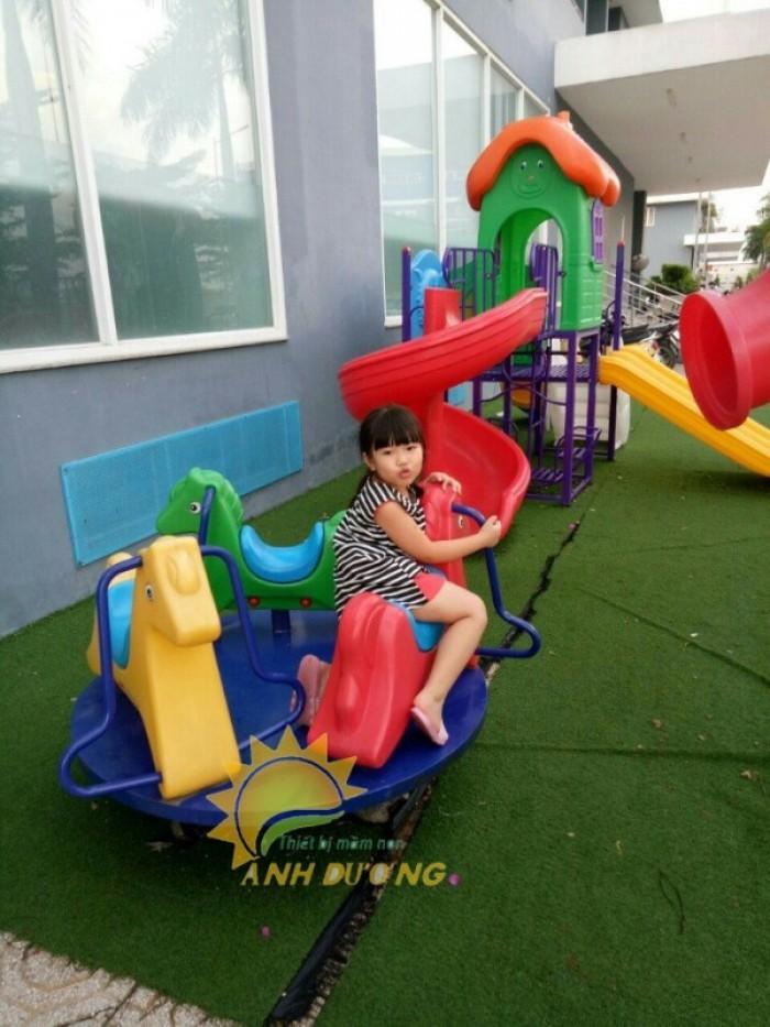 Chuyên cung cấp trò chơi đu quay trẻ em cho trường mầm non giá rẻ, chất lượng cao9