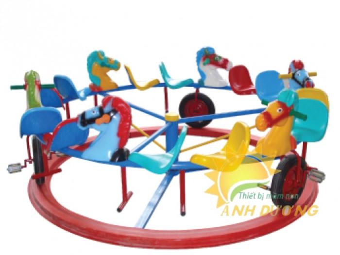 Chuyên cung cấp trò chơi đu quay trẻ em cho trường mầm non giá rẻ, chất lượng cao6
