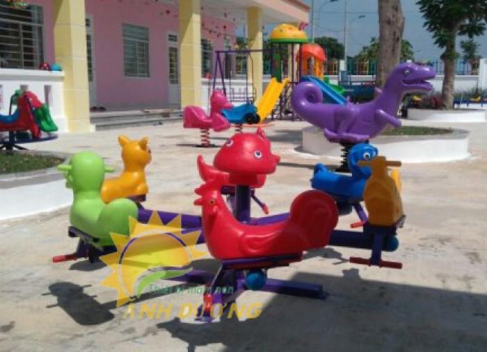 Chuyên cung cấp trò chơi đu quay trẻ em cho trường mầm non giá rẻ, chất lượng cao10