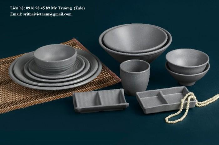 Bát đĩa Melamine Srithai - Nét tinh tế trên bàn ăn8
