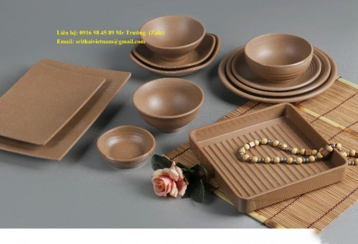 Bát đĩa Melamine Srithai - Nét tinh tế trên bàn ăn23