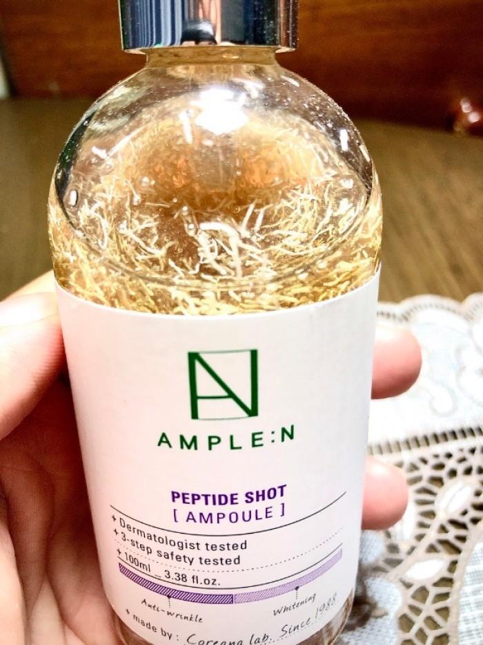 Tính chất dưỡng da AMPLE:N hàng xách tay Hàn Quốc0