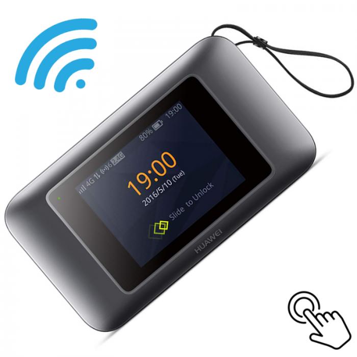 Bộ phát Wifi 4G Huawei E5787Ph tốc độ 300Mbps. Hàng cao cấp Telstra Úc - Pin 3000mAh2